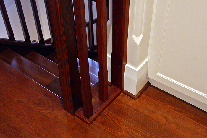 federation home stair case