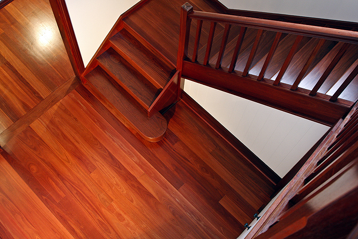 federation home stairs