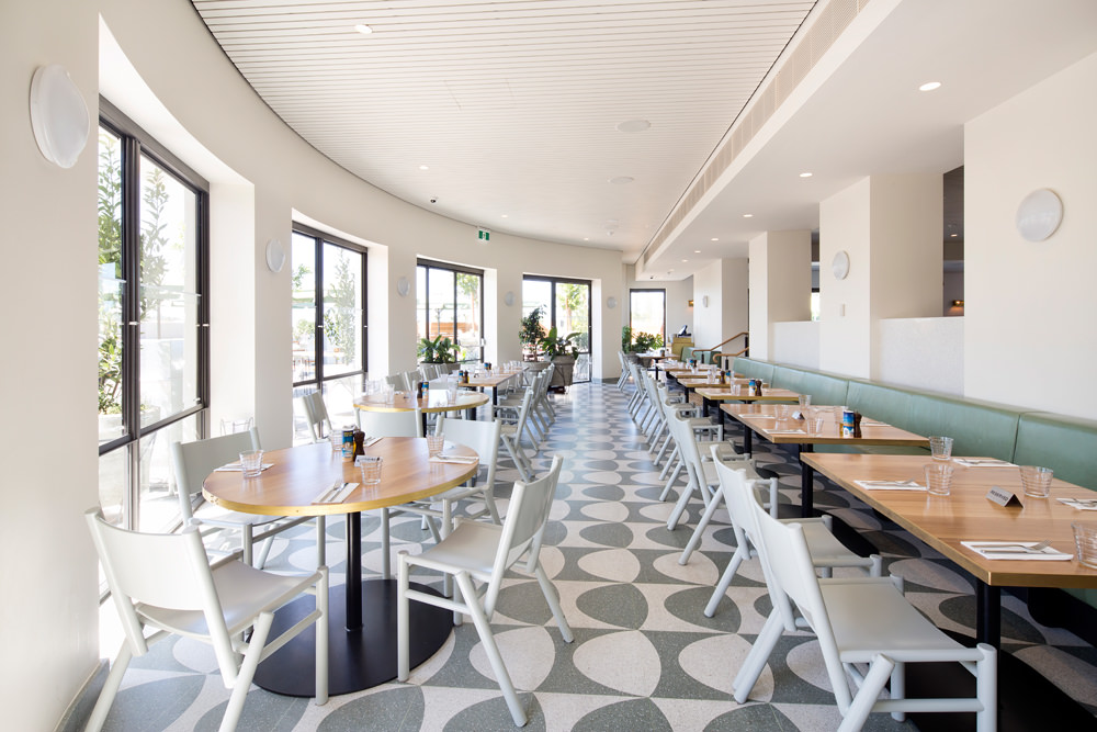 art deco dining fit out