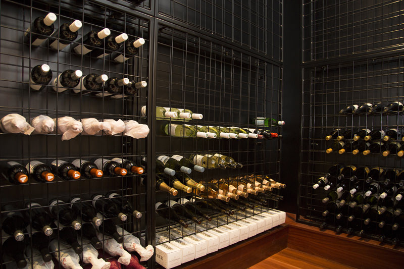 fit out wine room