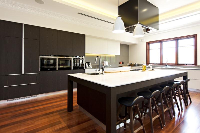 Federation home renovation kitchen