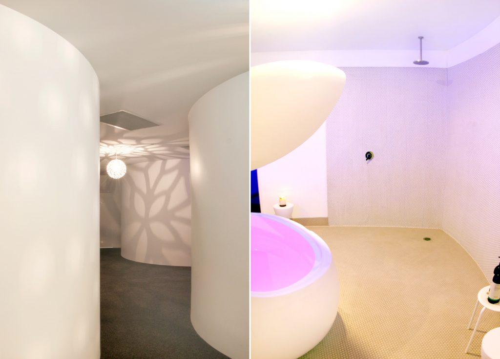 float spa fit out