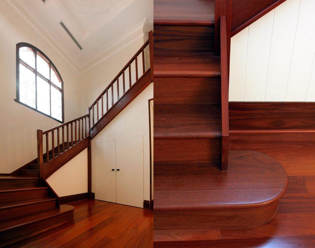 Wooden Jarrah Staircase
