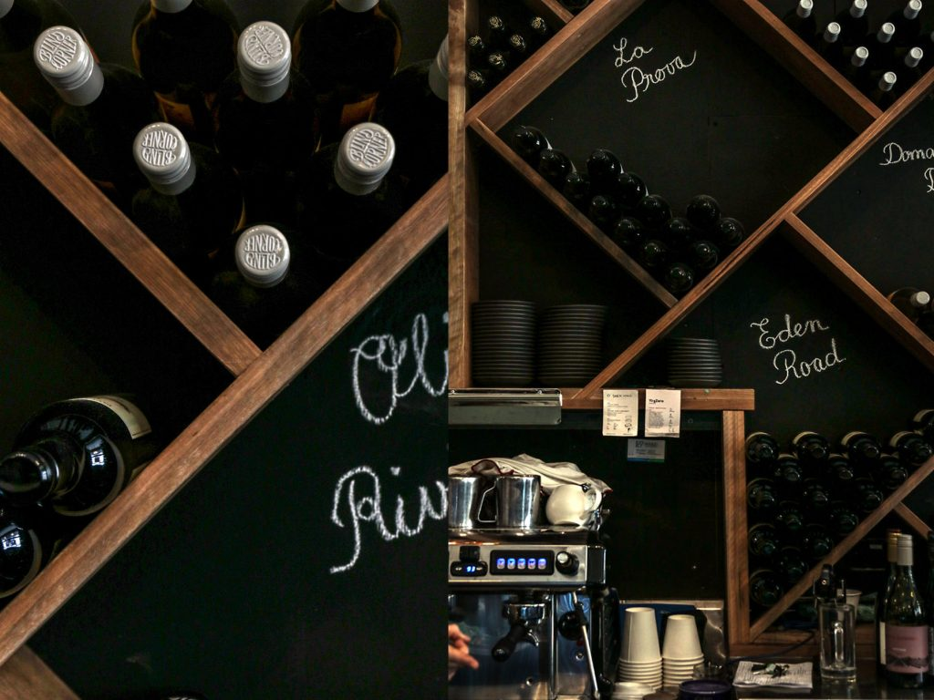 Harvey Leighs Wine Room Fit Out Wine Wall