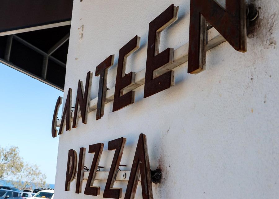 Canteen Rust Sign