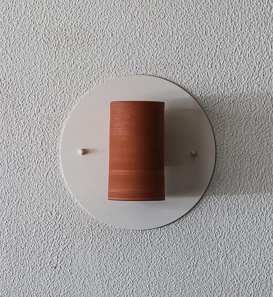Canteen Terricotta Wall Light