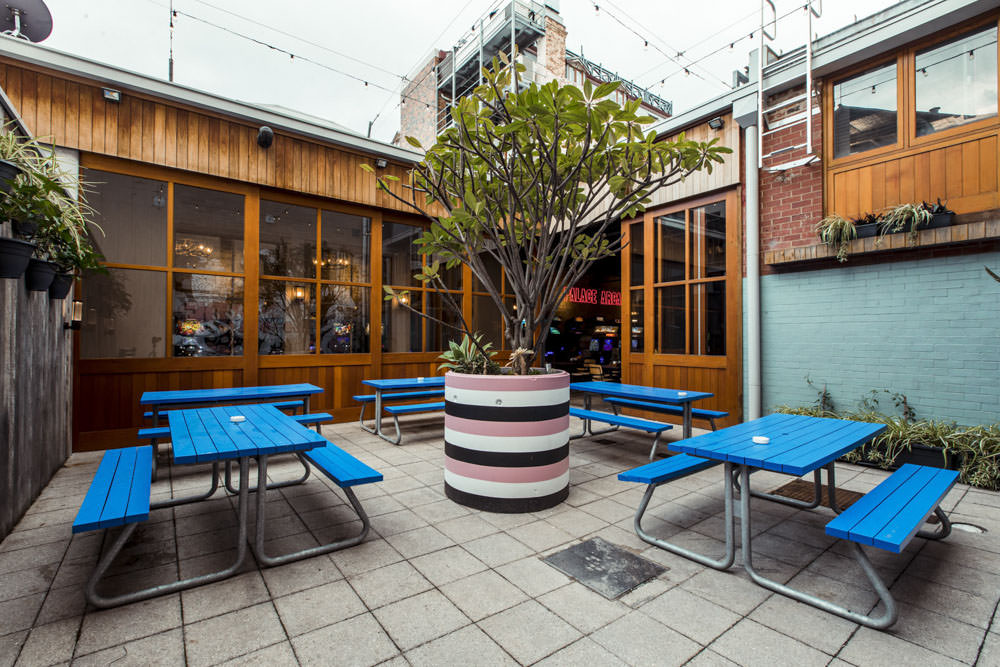 court yard fit out