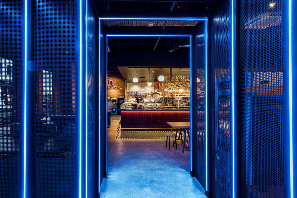 bar and arcade fit out