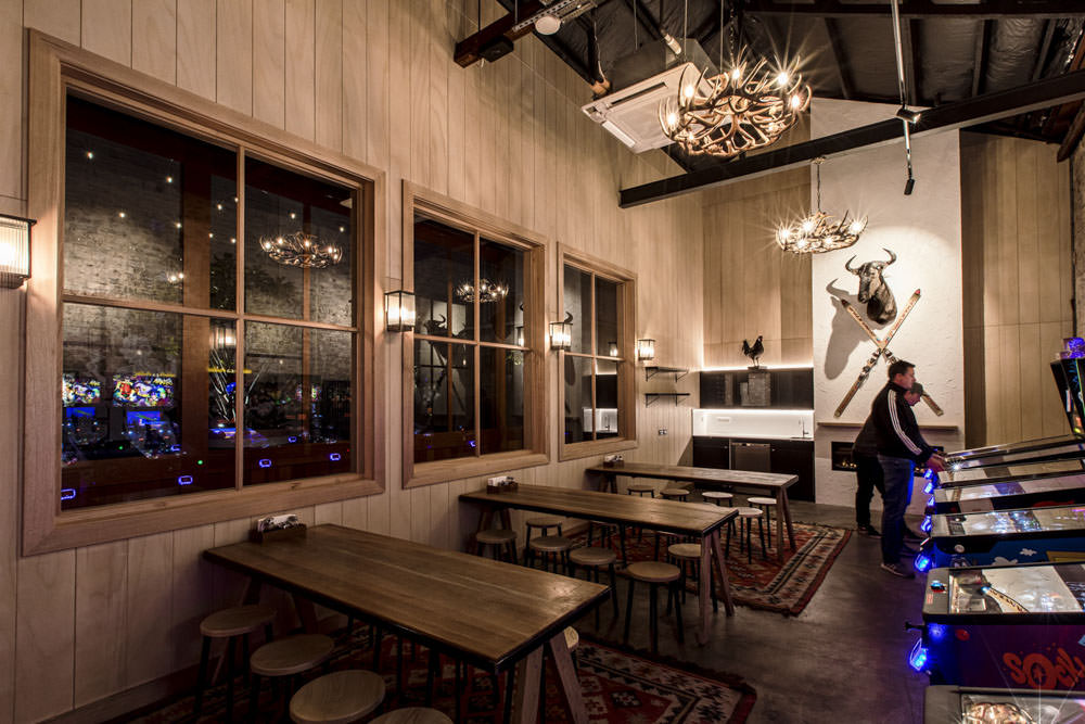 ski lodge fit out